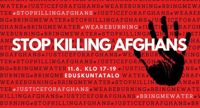 Afghan lives matter!