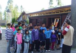 اردوی تابستانی زبان مادری اطفال ونوجوانان پناهنده افغانی در فنلند + عکس