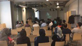 مجلس یادبود از قربانیان نسل کشی میرازولنگ ولایت سرپل در هلسینکی2017