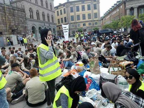 تحصن کنندگان جوان در استکهلم ، شور جوانی و خطرات بی برنامگی!