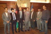سفر هيئت بلند پايه ای اتحاديه انجمنهای افغانستانی به سويدن و ملاقات با مقامات سفارت و جامعه مدني افغانستانیها