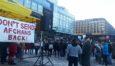 تظاهرات علیه اخراج اجباری پناهجویان افغانستانی در هلسینکی!
