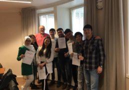 کلاسهای مربیان آوارتی در هلسینکی برگزار گردید