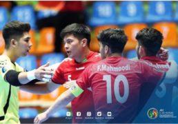 تیم ملی فوتسال زیر ۲۰سال افغانستان به نیمه نهایی قهرمانی آسیا رسید