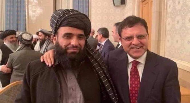 یک حرف لوکس از سخنگوی طالبان!