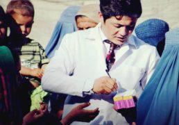 گفتگوی بخش خبری سایت کانون با دکتر شعیب شعبان رئیس عمومی سازمان خیریه دریچه صحت افغانستان