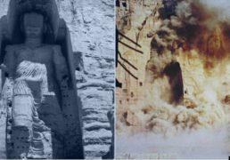 نهم مارچ 2001 روز انفجار مجسمه های بودا در بامیان توسط طالبان!