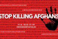 گردهمایی علیه تبعیض و بی عدالتی در افغانستان و کشتار مهاجرین افغانستانی را در ایران