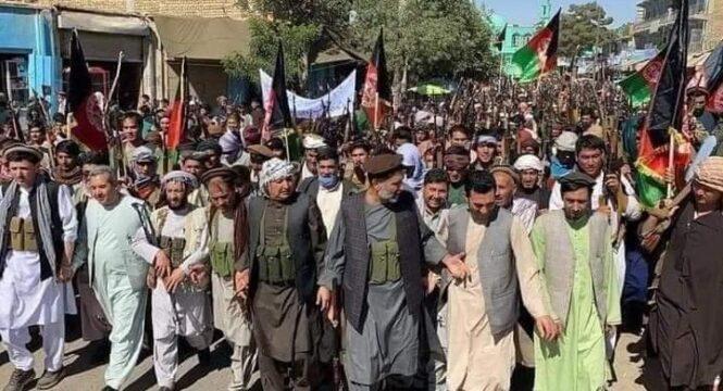 شکل گیری هسته های مقاومت مردمی یعنی شکست تفکر طالب و طالبانی!